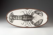 Platter: Lobster by Laura Zindel (Ceramic Platter)