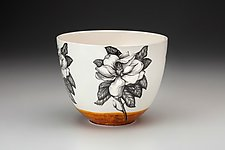 Magnolia Bowl by Laura Zindel (Ceramic Bowl)