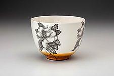 Magnolia Bowl by Laura Zindel (Ceramic Bowl)
