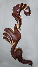 Ptah by Kerry Vesper (Wood Wall Sculpture)