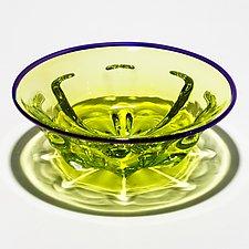 Roman Bowl by Michael Trimpol and Monique LaJeunesse (Art Glass Bowl)