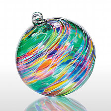 Paradise by Michael Trimpol and Monique LaJeunesse (Art Glass Ornament)