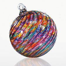 Kaleidoscope by Michael Trimpol and Monique LaJeunesse (Art Glass Ornament)