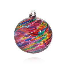 Celebration by Michael Trimpol and Monique LaJeunesse (Art Glass Ornament)