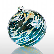 To the Moon by Michael Trimpol and Monique LaJeunesse (Art Glass Ornament)