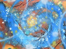 Cosmology Drift III by Stephen Yates (Acrylic Painting)