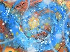 Cosmology Drift III by Stephen Yates (Acrylic Painting)