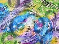 Cosmology Drift I by Stephen Yates (Acrylic Painting)