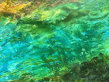 Green Grotto by Stephen Yates (Acrylic Painting)