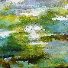 Drift Wetland by Stephen Yates (Acrylic Painting)