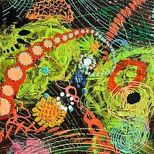 Cosmology VI by Stephen Yates (Acrylic Painting)