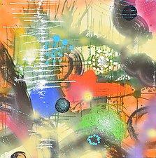 Cosmic Adventure VII by Stephen Yates (Acrylic Painting)