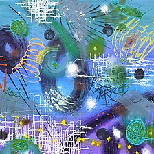 Cosmology Shift by Stephen Yates (Acrylic Painting)