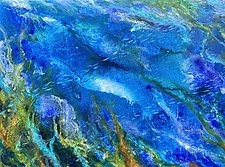 Grotto Blues by Stephen Yates (Acrylic Painting)