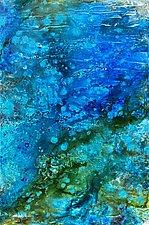 Blue Sea by Stephen Yates (Acrylic Painting)
