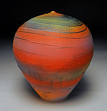 Sunset Wave by Nicholas Bernard (Ceramic Vessel)