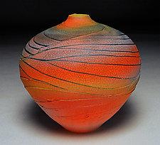 Sunset Topography III by Nicholas Bernard (Ceramic Vessel)