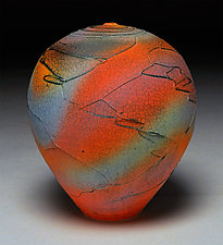 Multicolored Wrap by Nicholas Bernard (Ceramic Vessel)