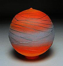 Pedestal Orb by Nicholas Bernard (Ceramic Vessel)