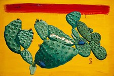 Desert No. 2 (Blue Crawlers) by Todd Starks (Oil Painting & Giclee Print)