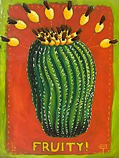 Desert No. 1 (Fruity!) by Todd Starks (Oil Painting & Giclee Print)