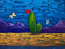 Desert No. 4 by Todd Starks (Oil Painting & Giclee Print)