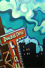 Double Door by Jason Watts (Oil Painting)