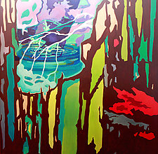 Zen Landscape No. 1 by Jason Watts (Oil Painting)
