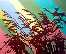 Prairie Grass II by Jason Watts (Oil Painting)