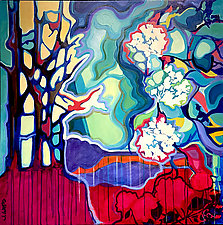 Rain Tree by Jason Watts (Oil Painting)