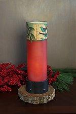 Capri Luminaire Table Lamp by Janna Ugone (Mixed-Media Table Lamp)