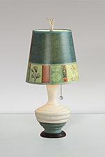 Melody Small Ceramic Table Lamp by Janna Ugone (Mixed-Media Table Lamp)