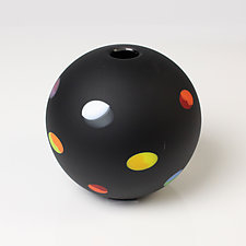 Maude by Bob Kliss and Laurie Kliss (Art Glass Vessel)