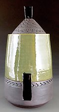 Fermentation/Pickling Jar in Green by Suzanne Crane (Ceramic Jar)