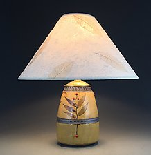 Mission Rustica Accent Lamp by Suzanne Crane (Ceramic Table Lamp)