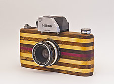 For the Love of Nikon by John Shuptrine (Wood Sculpture)