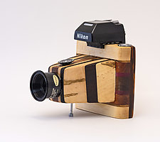 For the Love of Nikon II by John Shuptrine (Wood Sculpture)