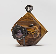 Cubism by John Shuptrine (Wood Sculpture)