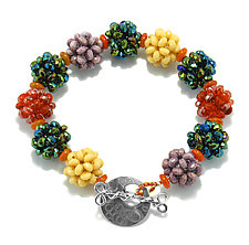 Rich Color Bracelet by Kathryn Bowman (Beaded Bracelet)