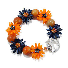 Now Starring Bracelet by Kathryn Bowman (Glass Bead Bracelet)