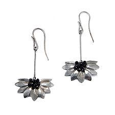 Daisy Play Earrings by Kathryn Bowman (Silver Earrings)