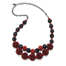 Dazzle Necklace by Kathryn Bowman (Beaded Necklace)