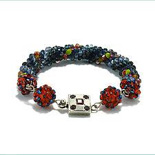Inner Glow Bracelet by Kathryn Bowman (Beaded Bracelet)