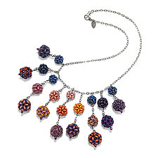 Crazy Baubles Necklace by Kathryn Bowman (Beaded Necklace)