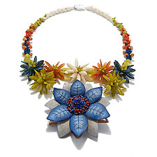 New Bloom Necklace by Kathryn Bowman (Beaded Necklace)