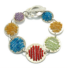 Lolli Pop Bracelet by Kathryn Bowman (Beaded Bracelet)