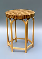 Verona by Tracy Fiegl (Wood Side Table)