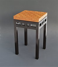 Osier by Tracy Fiegl (Wood Side Table)
