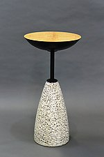 Dapple by Tracy Fiegl (Wood & Metal Tables)