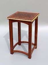 Venice by Tracy Fiegl (Wood Side Table)